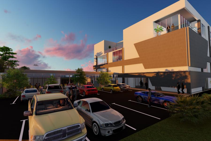 Yaounde mixed-use Development